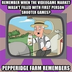 Pepperidge Farm Remembers FG - remember when the videogame market wasn't filled with first person shooter games? Pepperidge Farm Remembers