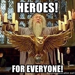 Dumbledore Feast - Heroes! For Everyone!