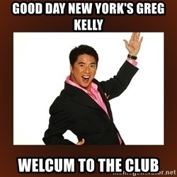 Bigyan ng jacket!! - good day new york's greg kelly welcum to the club