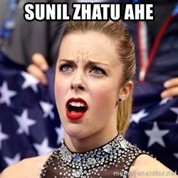 Ashley Wagner Shocker - sunil zhatu ahe