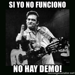 Johnny Cash - Si yo no funciono No hay Demo!