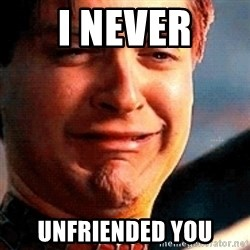 Crying Tobey Maguire - I NEVER UNFRIENDED YOU