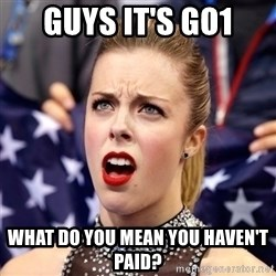 Ashley Wagner Shocker - Guys it's go1 What do you mean you haven't paid?