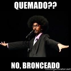 AFRO Knows - QUEMADO?? NO, BRONCEADO