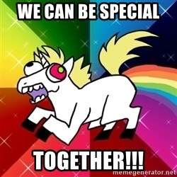 Lovely Derpy RP Unicorn - We can be special  TOGETHER!!!