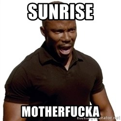 Doakes SURPRISE - sunrise motherfucka