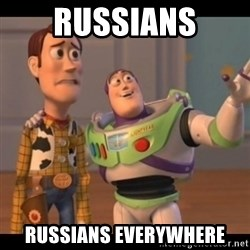 X, X Everywhere  - RUSSIANS RUSSIANS EVERYWHERE