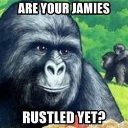 Jimmies Rustled - Are YOUR Jamies rustled yet?