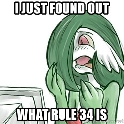 Pokemon Reaction - i just found out what rule 34 is