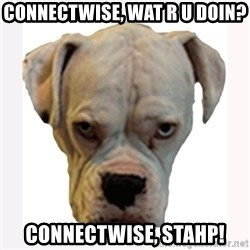 stahp guise - ConnectWise, wat r u doin? connectwise, stahp!