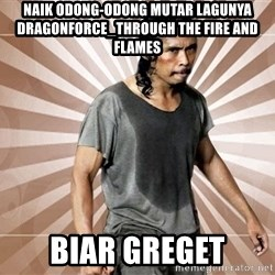 MadDog Indonesia - naik odong-odong mutar lagunya dragonforce_through the fire and flames biar greget