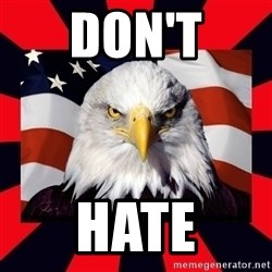Bald Eagle - DON'T HATE