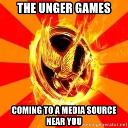 Typical fan of the hunger games - The Unger Games Coming to a media source near you
