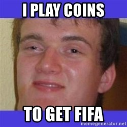 rally drunk guy - i play coins to get fifa