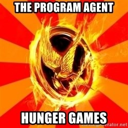 Typical fan of the hunger games - The program agent hunger games