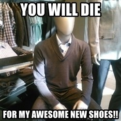 Trenderman - You will die for my awesome new shoes!!