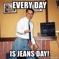 Mom Jeans Mitt - Every day is Jeans Day!