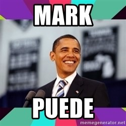 Barack Obama - Mark puede