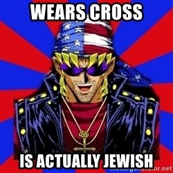 bandit keith - Wears cross is actually jewish