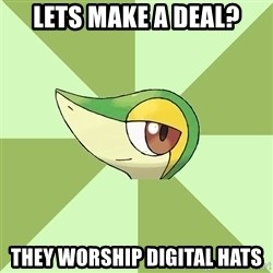 Smugleaf - lets make a deal? they worship digital hats