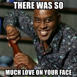 Ainsley Harriot - There was so MUCH love on your face