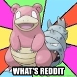 Slowbro -  What's reddit