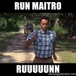 run forest - Run Maitro Ruuuuunn