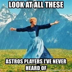 Sound Of Music Lady - look at all these astros players i've never heard of