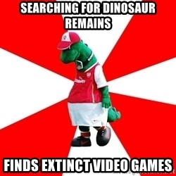 Arsenal Dinosaur - Searching for dinosaur remains finds extinct video games