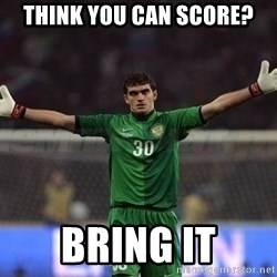 Real Goalkeeper - think you can score? Bring it