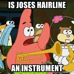 Patrick - is joses hairline an instrument