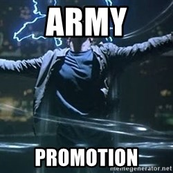 Highlander quick - Army Promotion