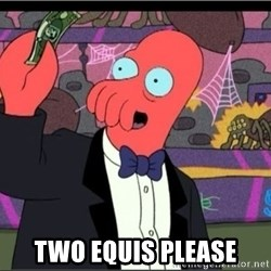 Zoidberg One Art Please -  two equis please