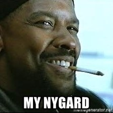 Denzel Washington Cigarette -  my Nygard