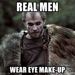 Floki Vikings - Real Men wear eye make-up