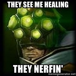 Master Yi - They see me healing They nerfin'