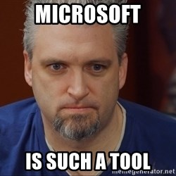 Intense Monte - microsoft is such a tool