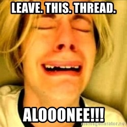 Leave Brittney Alone - Leave. this. thread. ALOOONEE!!!