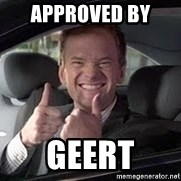 Barney Stinson - approved by  geert