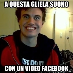 I DONT GIVE A FUCK /sexwithoutpermission - a questa gliela suono  con un video facebook