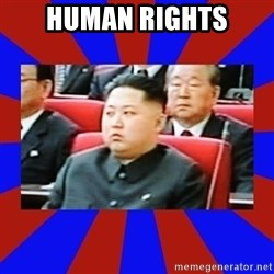 kim jong un - human rights