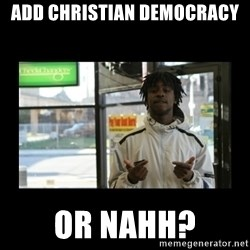 Chief Keef - Add christian democracy or nahh?