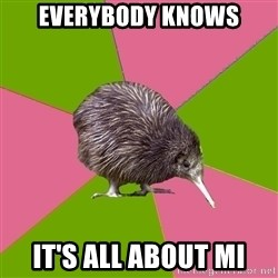 Choir Kiwi - Everybody knows It's all about mi