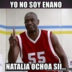 Not in my house Mutombo - Yo No Soy Enano Natalia Ochoa Sii...