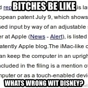 DONT KNOW WITCH FONT MEMES USE - bitches be like whats wrong wit disney?