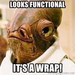 Its A Trap - looks functional it's a wrap!