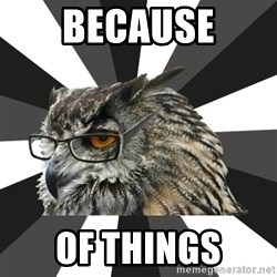 ITCS Owl - because of things
