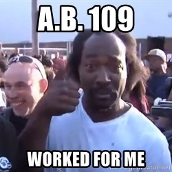charles ramsey 3 - a.b. 109 worked for me