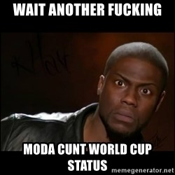 Kevin Hart Wait - WAIT ANOTHER FUCKING moda cunt world cup status