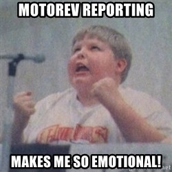 The Fotographing Fat Kid  - motorev reporting makes me so emotional!